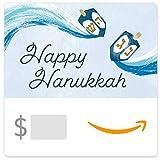 Amazon eGift Card - Happy Hanukkah Dreidels