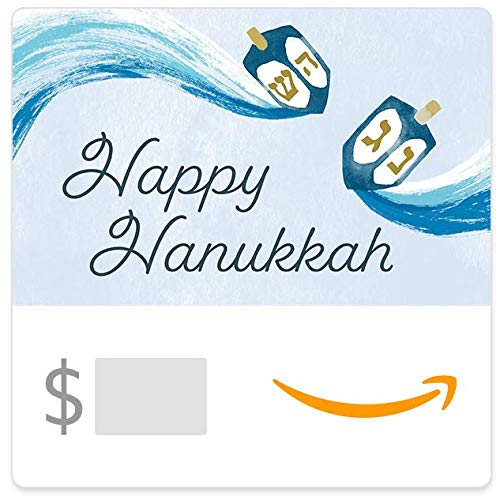 Amazon eGift Card - Happy Hanukkah Dreidels