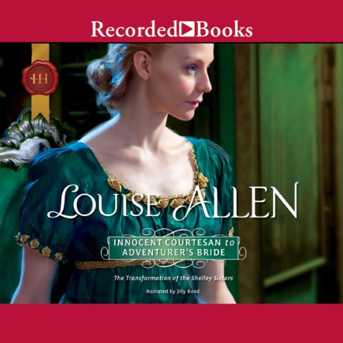 Innocent Courtesan to Adventurer's Bride audiobook cover art