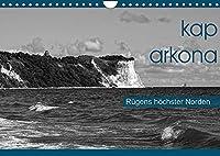 Kap Arkona - Ruegens hoechster Norden (Wandkalender 2022 DIN A4 quer): Flaechendenkmal Kap Arkona, beliebtes Ausflugsziel im Norden der Insel Ruegen (Monatskalender, 14 Seiten )