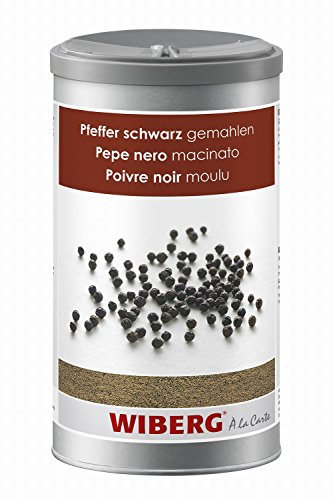 Wiberg Pfeffer schwarz gemahlen 1200 ml, 1er Pack (1 x 1.2 L)