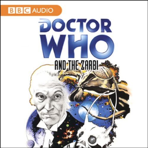 Doctor Who and the Zarbi audiobook cover art