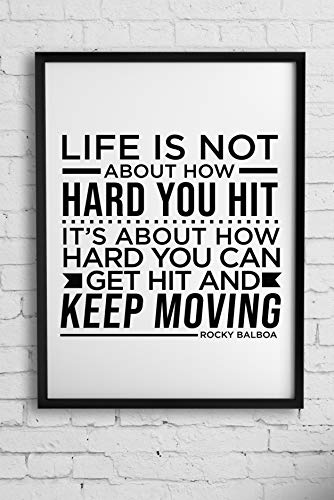 Life is not About How Hard You hit | Rocky Balboa | Cita inspiradora de la vida...