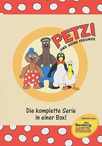 Petzi und seine Freunde - Die komplette Serie in einer Box [6 DVDs]