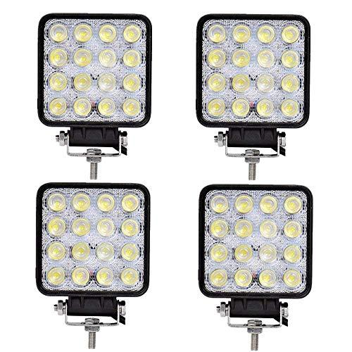 Foco de trabajo LED de 18 W, luz de trabajo, faro adicional...
