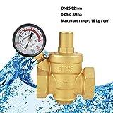DN25 32mm Régulateur Reducteur de Pression d'eau Réglable,7.25-116 psi Vanne de réduction de pression d'eau...
