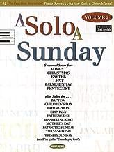 A Solo a Sunday - Volume 2: Piano Solo