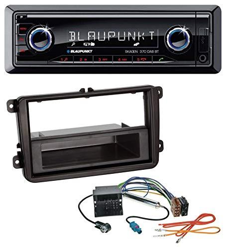 caraudio24 Blaupunkt Skagen 370 DAB BT USB SD DAB MP3 Bluetooth Autoradio für Skoda Praktik/Superb/Yeti