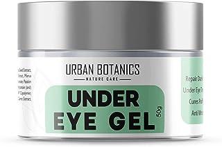 UrbanBotanics® Under Eye Cream Gel for Dark Circle, Wrinkles, Puffy Eyes with Quinoa, Hyaluronic Acid, Niacinamide & Tomato Extract, 50g