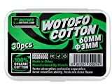 Wotofo Pre-Built Agleted Organic Cotton Wickelwatte