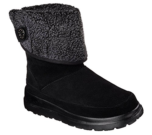 Skechers Women's Cherish Engagement Boots Black 10 B(M) US