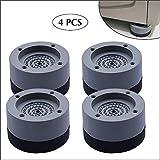 HTYA Anti-Slip And Noise-reducing Washing Machine Feet - Pad Anti Slip Rubber Foot Pad for Washing Machines And Dryers 3.5 CM