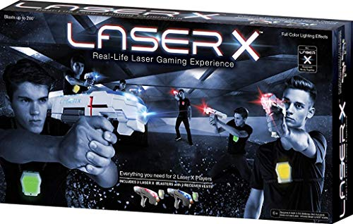 Laser X home laser tag set