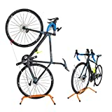 GORIX(ゴリックス) 自転車 スタンド [縦置き 横置き両用] ロードバイク クロスバイク 室内 ディスプレイスタンド SJ-518 (オレンジ)