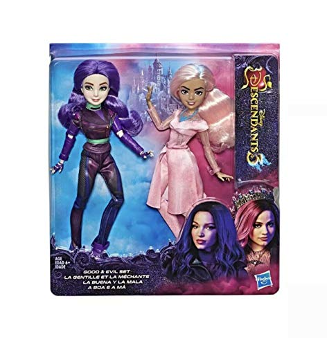 Disney Descendants 3 Good & Evil Doll Set