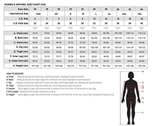 Australian Bikers Gear  – Sturgis Tour – Damen Motorrad-Lederjacke – Protektoren -52 (6XL) - 4