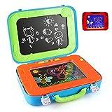 BeebeeRun Dibujo Pizarra 2 en 1 Pizarras mágicas para niños Juegos Juguetes Educativo para Niños niñas 3 4 5 6 años
