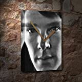 BENEDICT CUMBERBATCH - Canvas Clock (A5 - Signed by the Artist) #js002