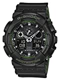 Casio G-SHOCK Orologio 20 BAR, Verde/Nero, Analogico - Digitale, Uomo, GA-100L-1AER
