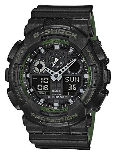 Casio G-Shock Herren Harz Uhrenarmband GA-100L-1AER