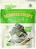 Bibigo Chips de Arroz con Algas - Crujientes - Sabor Original - Producto Asiático- 20 Gramos