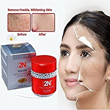 Freckle Cream, Face Moisturizer, Skin Lightening Cream, Freckle Remover For Remove Spot and Melanin + Moisturizing Firming Skin