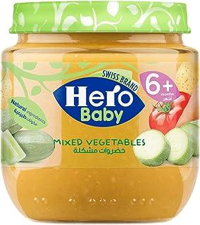 هيرو بيبى طعام للأطفال الخضراوات المشكلة، 120 جرام