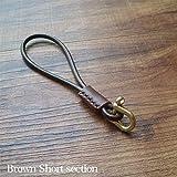Las mujeres de alto grado retro del cuero auténtico llave del coche de Cadenas for los anillos sostenedor de la llave del monedero del bolso lindo del colgante del encanto parejas amantes de recuerdos