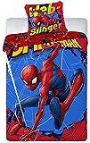 Enjoykids - Juego de funda nórdica de Spiderman Marvel