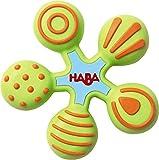 Haba 300426 Grijp Ster | Veelkleurig, materiaal siliconen | Verschillende structuren op elke arm | Voor baby's vanaf 6 maanden