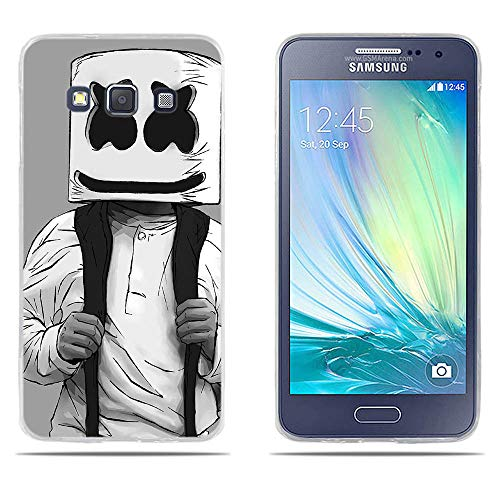 DIKAS para Funda para Samsung Galaxy A3 A300, de Silicona Transparente TPU, Flexible Resistente a Los Arañazos en su Parte Trasera, Funda Protectora Anti-Golpes para Samsung Galaxy A3 A300 (4.5