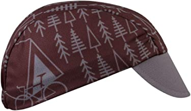 Trees Cycling Cap - Made in The USA Brown