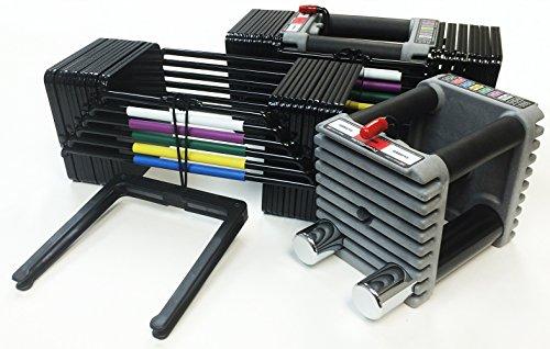 PowerBlock USA Elite 5-70lbs Dumbbell Set