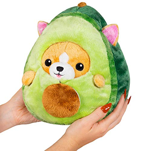 "Squishable / Undercover Corgi in Avocado 7"" Plush"