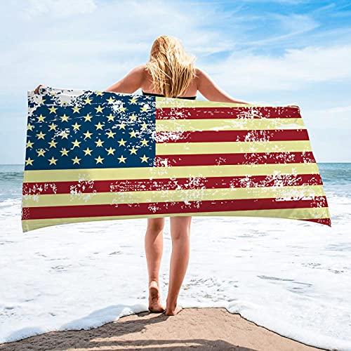 Toallas De Playa De La Serie Little Star Toallas Cuadradas Absorbentes De Secado Rápido De Fibra Extrafina Toallas De Piscina, Toallas De Sillón 75 * 150cm