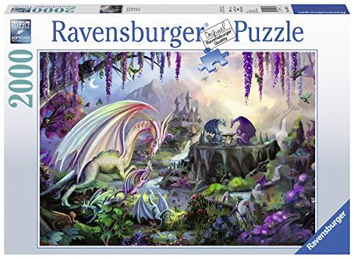 Ravensburger Drachen-Puzzle 2000 Stück, Puzzle für Erwachsene
