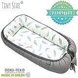 TinyStar: Mousse pour bébé Fait à la main en coton respirant - Nid de Sommeil en Coton - Cocon Réducteur de Lit pour...