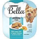Purina Bella Grain Free, Natural Pate Wet Dog...