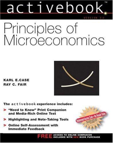 Principles of Microeconomics Active Book (7th Edition)