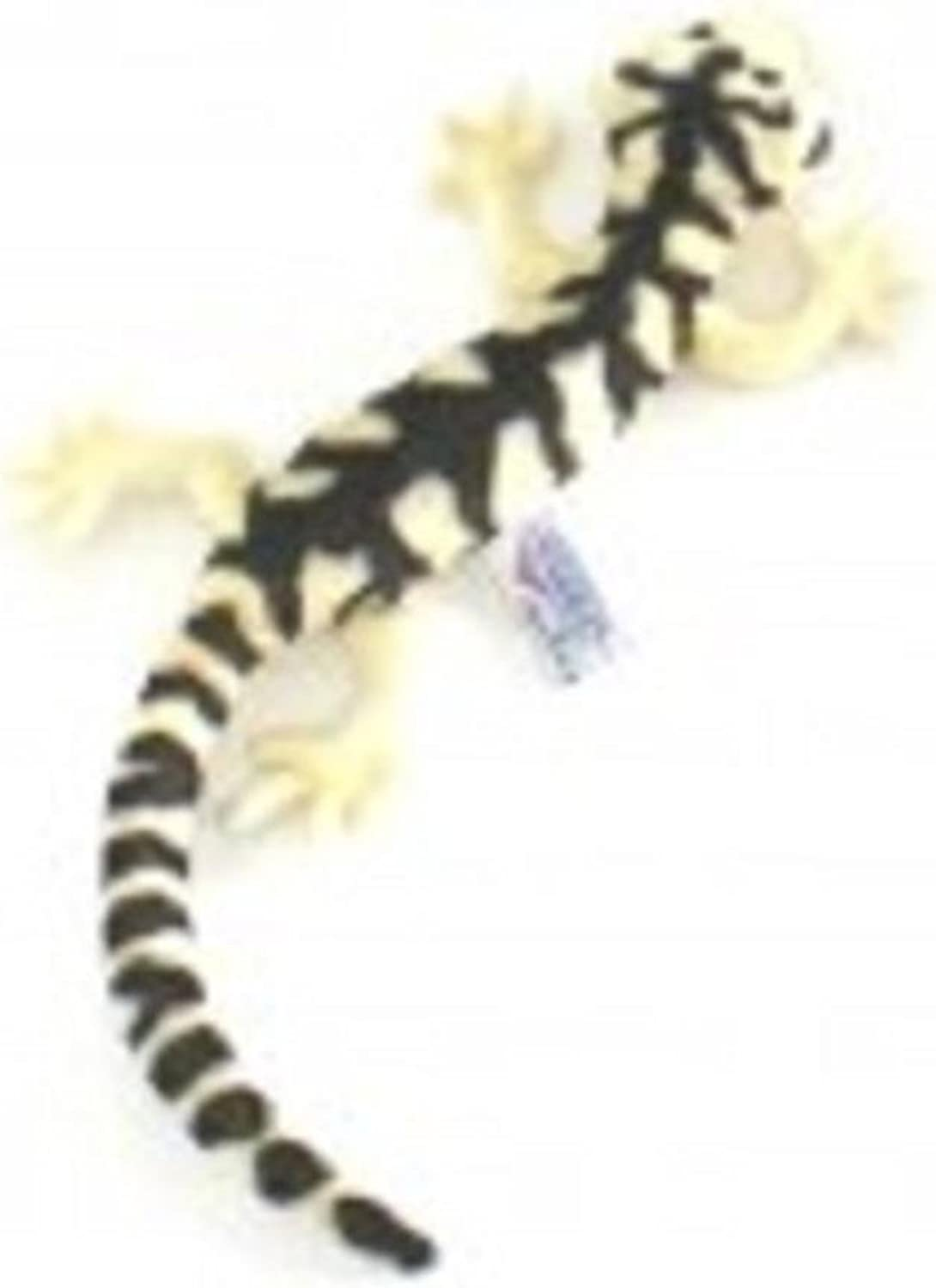 Set of 4 LifeLike LifeLike LifeLike Handcrafted Extra Soft Plush Bulldog Salamander Stuffed Animals 14.75  093b17