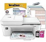 VersaCheck HP 4155 MX MICR All-in-One Check Printer, White