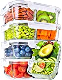 Best Glass Lunch Boxes - Glass Meal Prep Containers 2 Compartment - Glass Review