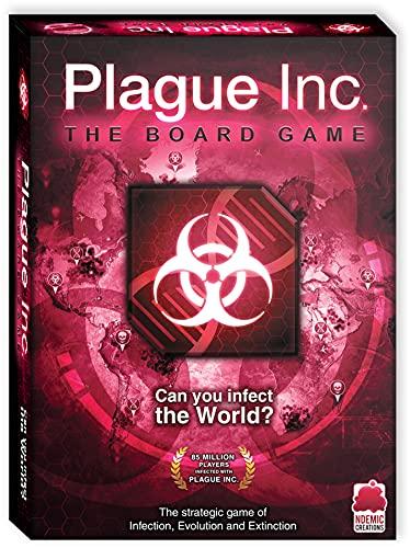 Ndemic Creations -Plague Inc. - Board Game