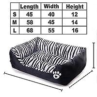 Shefure 大中小犬カモぬいぐるみ犬のベッドハウスバスケットマットペットベッド犬猫ペットPrductsのためにビッグ大型ホットドッグベッド 犬小屋 (Color : 1, Size : M)