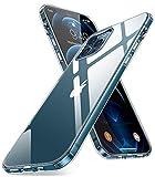Humixx Ice Clear Kompatibel mit iPhone 12 Pro Max Hülle [Militärischer Schutz] Transparent Durchsichtig Handyhülle Anti-Fall Stoßfest Kratzfest Schutzhülle mit Schutz Bumper Hardcase (6,7 Zoll)
