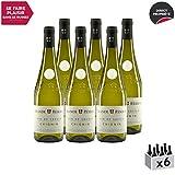 Vin de Savoie Grande Réserve Chignin Blanc 2018 - Maison Perret - Vin AOC Blanc de Savoie - Bugey - Cépage Jacquère - Lot de 6x75cl