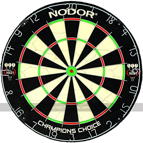 Nodor Champions Choice Dartboard (with Mini-Bullseye)