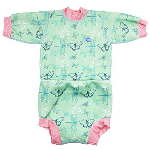 Splash About Unisex Baby Happy Nappy Neoprenanzug mit Schwimmwindel Dragonfly 6-14 Monate