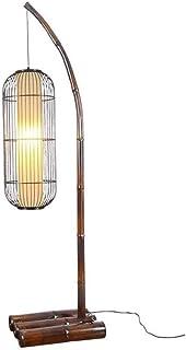 SXRKRZLB Lámpara de pie Japonesa Moderna Minimalista de la Personalidad Creativa de la Sala Dormitorio Mesita Modelo lámpara Decorativa Lámpara de Mesa de Habitaciones (Color : B)