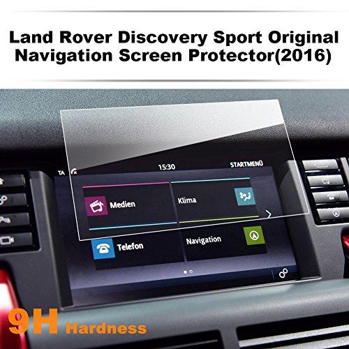 LFOTPP Land Range Rover Discovery Sport 8 Pulgadas Navegación Protector de Pantalla - 9H Cristal Vidrio Templado GPS Navi película protegida Glass